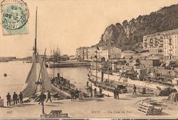 06 - NICE - UN COIN DU PORT - Transport (sea) - Harbour