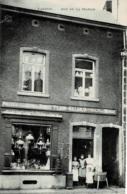 Tamines Rue De La Station Magasin Ernest Tilquin-Gillain Poëles En Tous Genres - Utensiles De Ménage Circulée En 1910 - Sambreville