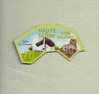 """Magnets. Magnets """"Le Gaulois"""" Départements Français. Haute-Saône-Territoire De Belfort (70-90) - Publicitaires"""