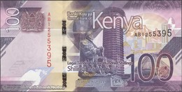 TWN - KENYA NEW - 100 Shillings 2019 Prefix AB UNC - Kenya