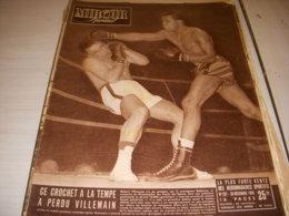 MIROIR SPRINT 237 26.12.1950 BOXE ROBINSON VILLEMAIN FOOT REIMS HAC Le HAVRE - Sport