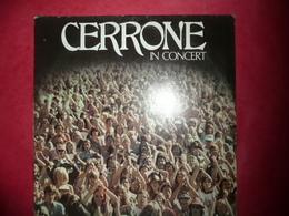 LP2 N°2525 - CERRONE - IN CONCERT - 2 LP'S -TRES GRAND ARTISTE ET GRAND COMPOSITEUR DE DISCO FUNK POP ROCK + PETIT BONUS - Disco, Pop