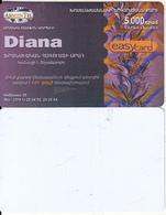 ARMENIA - Diana, ArmenTel Prepaid Card 5000 AMD, Exp.date 30/10/06, Printing Test Card(reverse White) - Arménie