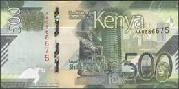 TWN - KENYA NEW - 500 Shillings 2019 Prefix AA UNC - Kenya