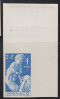 MONACO (1946) Nurse* Holding Up Baby. Corner Imperforate. Scott No B91. Yvert No 293. - Monaco