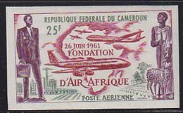 CAMEROUN (1961) Air Afrique. Imperforate. Scott No C37. - Cameroon (1960-...)