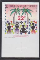 WALLIS & FUTUNA (1989) Fresco. Palm Trees. Imperforate. Scott No 382, Yvert No 388. - Other