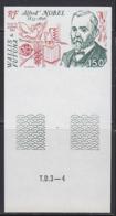 WALLIS & FUTUNA (1983) Alfred Nobel. Imperforate. Scott No C124, Yvert No PA127. - Other