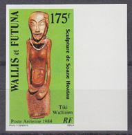 WALLIS & FUTUNA (1984) Tiki Sculpture. Imperforate. Scott No C134, Yvert No PA137. - Other