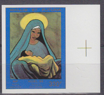 WALLIS & FUTUNA (1985) Nativity By Michon. Imperforate. Scott No C145, Yvert No PA148. - Other