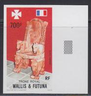WALLIS & FUTUNA (1989) Royal Throne. Imperforate. Scott No C162, Yvert No PA165. - Other