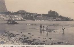 PALERMO-VILLA IGEA-VEDUTA DALL'ARENELIA--CARTOLINA VERA FOTOGRAFIA NON VIAGGIATA-ANNO 1906-1910-EDIZIONI NPG - Palermo