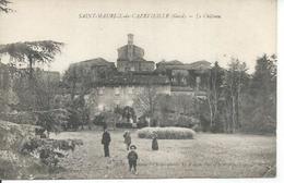 SAINT-MAURICE-DE-CAZEVIEILLE - LE CHATEAU  ( Animées ) - France