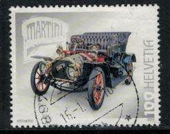 Suisse // Schweiz // Switzerland //  2015  //  Automobile Suisse, Martini  No.1557 Oblitéré - Suisse