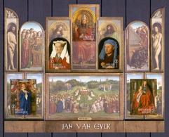 2020 Jan Van Eyck Blok POSTFRIS** BLN20209 - Blocs 1962-....