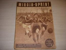 MIROIR SPRINT 287 10.12.1951 FOOT RENNES BORDEAUX BASKET FOUGERES JUDO FRANCE - Sport