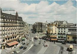 C.P.LUEMBOURG  Place De La Gare   ALFA HOTEL - Autres