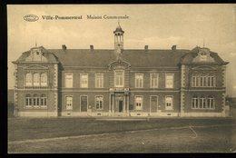 Bernissart Ville Pommeroeul Maison Communale Preaux Aghlin - Bernissart
