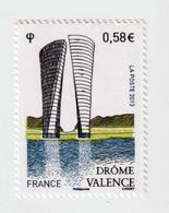 TIMBRE -  2013  - Série Touristique ,  Valence  -    4735 -      Neuf Sans Charnière - France