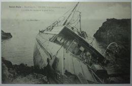SAINT MALO Naufrage Du HILDA L'arrière Du Navire Et Le Pont Brisé - Saint Malo