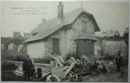 SAINT CAST Naufrage Du Hilda Les Débris Du Naire Rejetés Par La Mer - Saint-Cast-le-Guildo