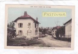 CPA :  14 X 9  -  5090 - PERS  JUSSY   -  La  Poste - Intérieur Du Chef-lieu - Autres Communes