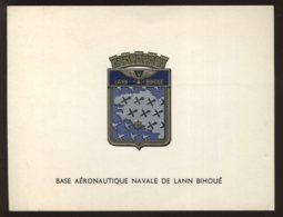 BLASON DE LA BASE AERONAUTIQUE NAVALE DE LANN BIHOUE - Bateaux