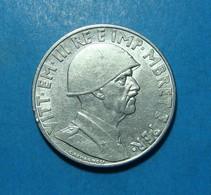 Albania - Italia 1 Lek 1939, Nickel - Albania