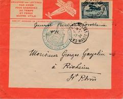 J71 - Marcophilie - Lettre De Maroc Vers France - Par Avion - 1924 - Morocco (1891-1956)