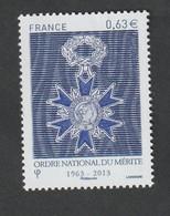TIMBRE -  2013  -Cinquantenaire De L'Ordre National Du Mérite  -  N°  4830 -      Neuf Sans Charnière - Unused Stamps