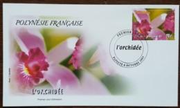 Polynésie - FDC 2003 - YT N°699 - Orchidée - FDC