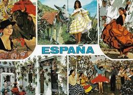 Espagne Typique Divers Aspects (2 Scans) - Autres