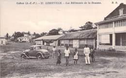 GABON Gabün ( Ex AEF ) LIBREVILLE : Les Batiments De La Douane - CPA - Afrique Noire / Black Africa - Gabon