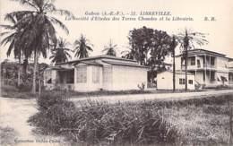 GABON Gabün ( Ex AEF ) LIBREVILLE Société D'Etudes Des Terres Chaudes Et La Librairie - CPA Afrique Noire  Black Africa - Gabon