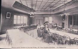 PARIS 18e Maison Pour Dames Et Jeunes Filles, 37, Rue Eugène-Carrière Un Réfectoire - District 18