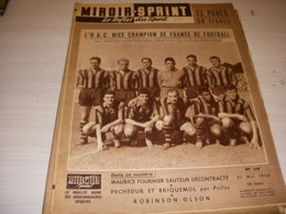 MIROIR SPRINT 519 21.05.1956 FOOTBALL EQUIPE NICE BOXE RAY SUGAR ROBINSON - Sport