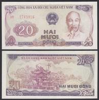 Vietnam - Viet Nam  20 Dong Banknote 1985 Pick 94a UNC (1)  (25150 - Banknoten