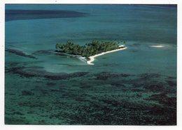"""Polynésie Française --BORA-BORA  -1973 -- Vue Aérienne --L'ilot """"Motu-Tapu"""" .................à Saisir - Polynésie Française"""