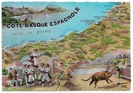 Espagne Côte Basque Espagnole (2 Scans) - Non Classés