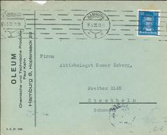 Oleum Paul Kahn Hamburg - Goethe 1928 Maschinenstempel - Covers & Documents