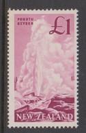 New Zealand SG 802 1960 Definitives,One Pound Deep Magenta  ,mint Never Hinged - New Zealand