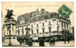63000 CLERMONT-FERRAND - Lot De 4 CPA - Vues Avec Militaires - Voir La Liste Dans La Description - Clermont Ferrand