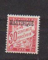 MARTINIQUE     N°  YVERT  : TAXE   5     NEUF AVEC  CHARNIERES      (  CH  01/05  ) - Postage Due