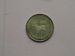 VILVOORDE ( 50 Moetoen ) 1980 ( Goudkleur - Details, Zie Foto ) - Gemeentepenningen
