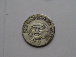 MECHELEN ( 100 Opsinjoren Markta ) 1982 ( Bronskleur - Details, Zie Foto ) - Gemeentepenningen