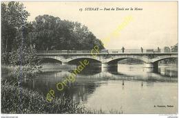 55. STENAY . Pont Du Tivoly Sur La Meuse . - Stenay