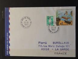 03 - 20 // St Pierre Et Miquelon - N° 515 Et 574 Sur Lettre à Destination De La Garde - St.Pierre Et Miquelon