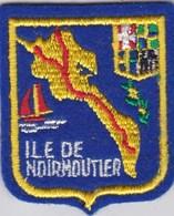 Ecusson Tissu - Ile De Noirmoutier (85) - Blason - Armoiries - Héraldique - Patches
