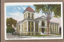 CPA USA - CONCORD - State Library - TB PLAN EDIFICE CENTRE VILLE - Concord