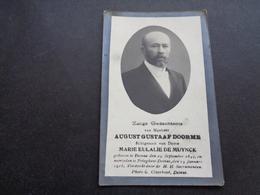 Doodsprentje ( 300 )   Doorme / De Muynck  - Deynze  Deinze  Peteghem  Petegem   1916 - Décès
